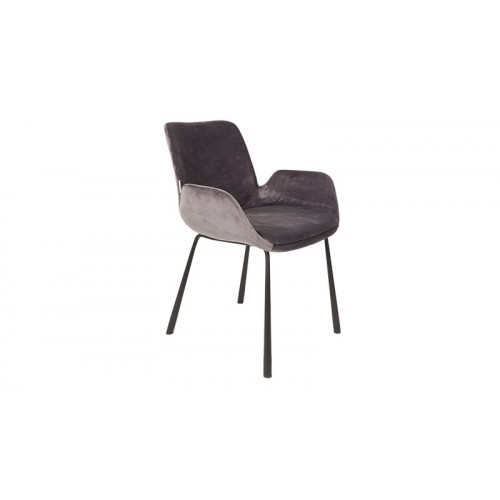 Brit Armchair Dark Grey