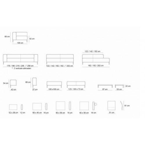 Buenavista modulaire hoekbank