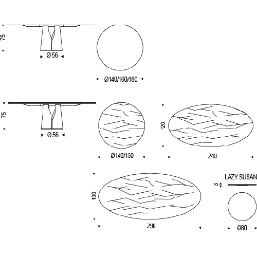 Giano eettafel