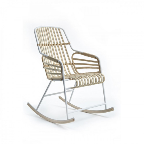 Raphia Rocking Chair