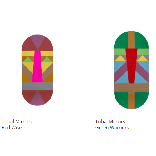 Tribal Mirrors Red Wise
