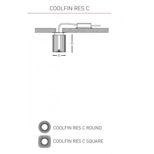 Coolfin res C rond klein