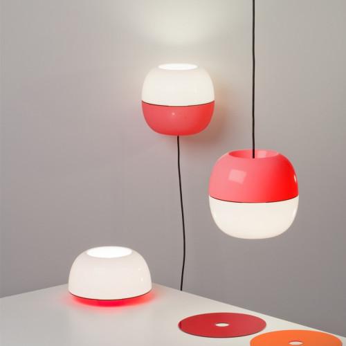 IJ-lamp table opal