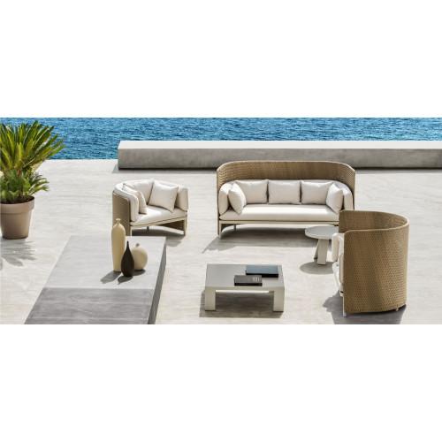 Esedra Lounge High Back Chair