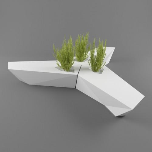 Vondom_Faz_Bench_Puur_design