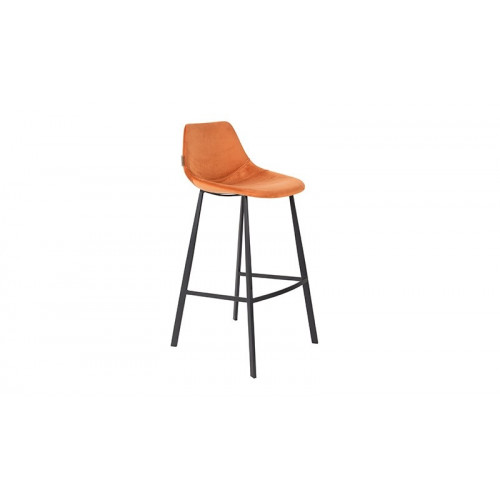 Franky bar stool Velvet