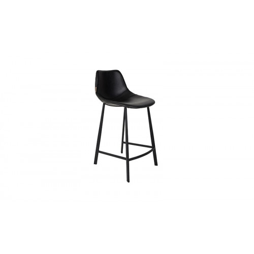 Franky Counter Stool - Zwart