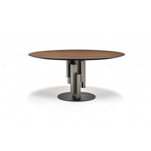 Skyline Table Round Wood