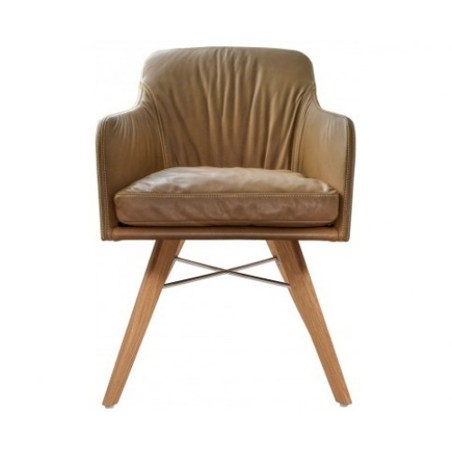 Kff Design Stoelen.Youma Casual Wooden Frame Armchair Kff Puur Design Interieu