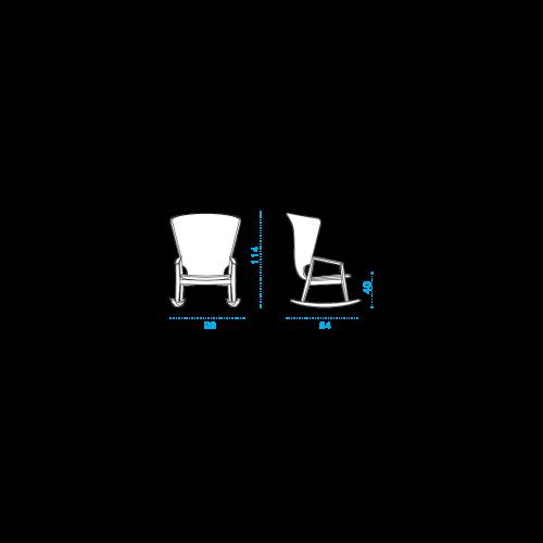 Knit Rocking Chair