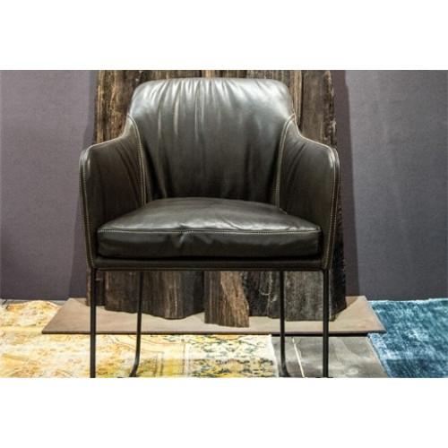 Youma Casual Skid Frame Armchair