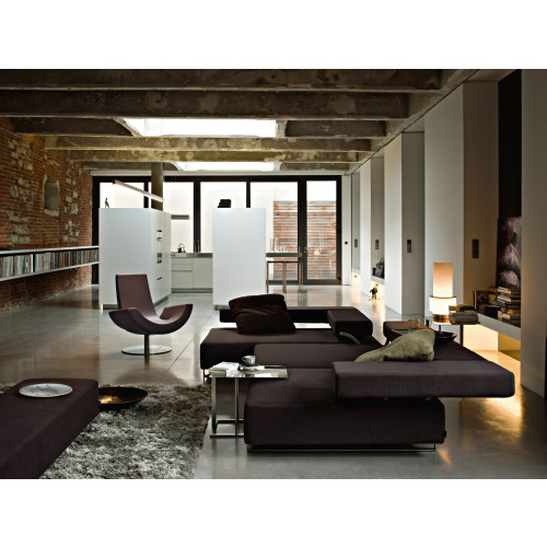 Loft bank met chaise longue