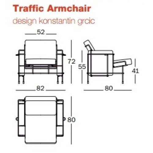 Traffic Armchair - Outdoor
