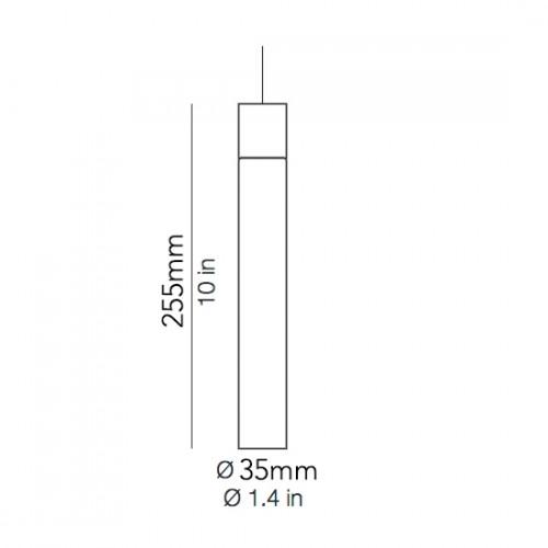 Minimal hanglamp