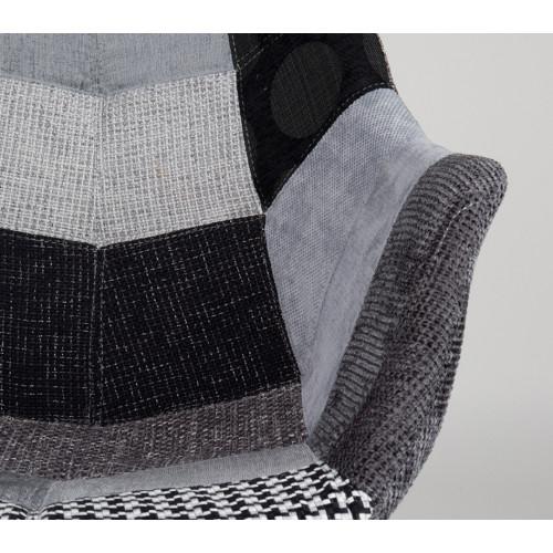 Chair Twelve (patchwork grijs)