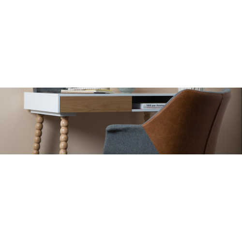 Doulton Bureaustoel (Vintage Brown)