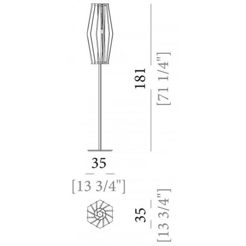 Oompa-Loompa vloerlamp