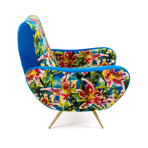 Flowers with Holes Armchair