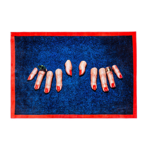 Rectangular Fingers Rug