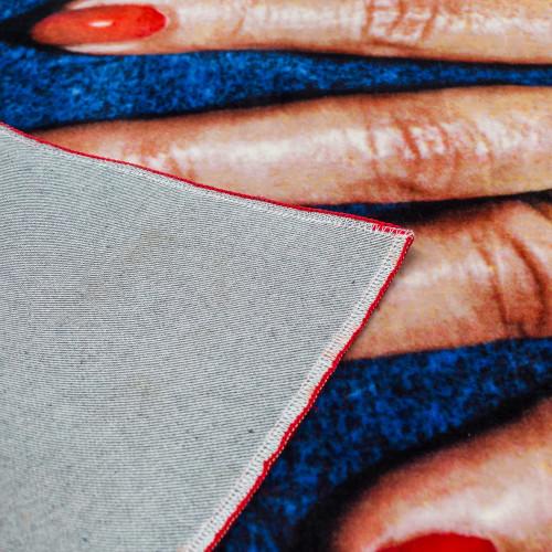 Rectangular Fingers Rug