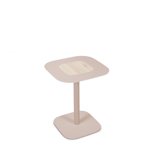 Blush side table