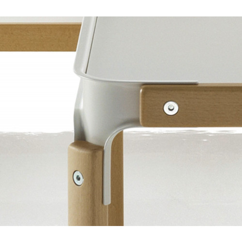 Steelwood Table van Magis