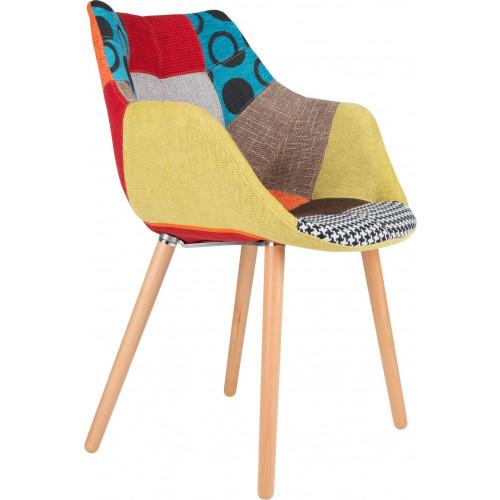 Chair Twelve (patchwork gekleurd)
