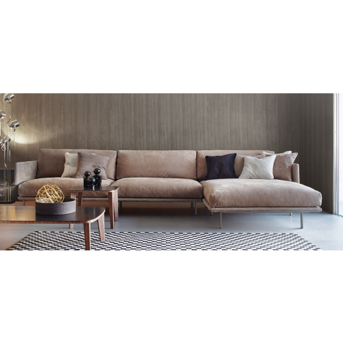 Design Bank Met Chaise Longue.Structure Sofa Met Chaise Longue Bonaldo Puur Design Interieu