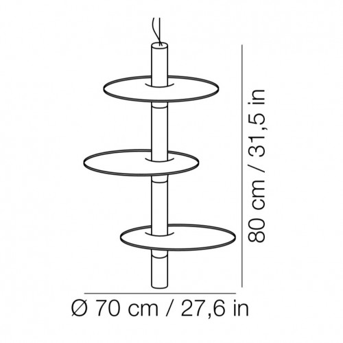 Victoria hanglamp