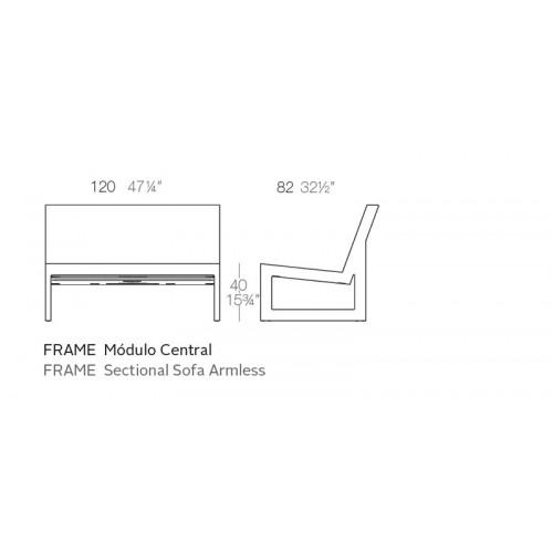Vondom_Frame_Sofa_Module_Midden_Puur_Design