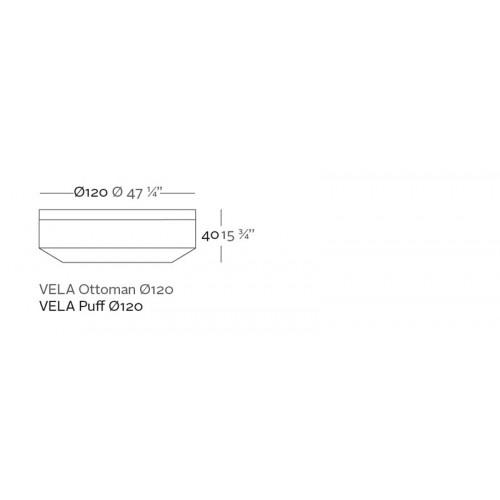Vondom_Vela_Ottoman_Rond_Puur_Design