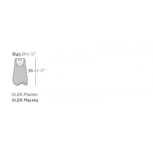 Vondom_Vlek_Nano_Planter_Puur_Design