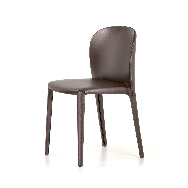 De daisy eetkamerstoel van cattelan italia is een vriendelijk ogende stoel zonder hoeken of scherpe lijnen. ...