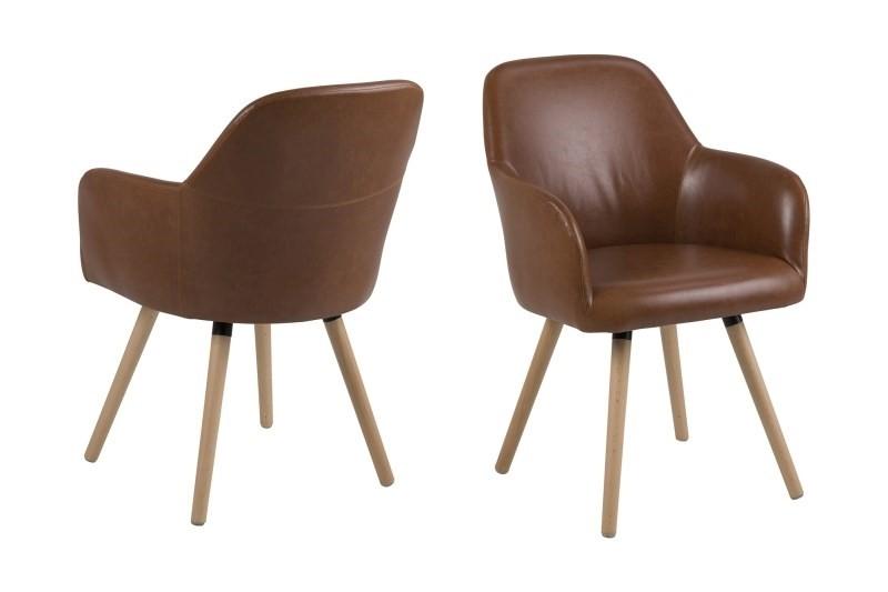 Geniet van het comfort van de luna eetkamerstoel van scandilab. de sfeervolle luna stoel is verkrijgbaar in ...