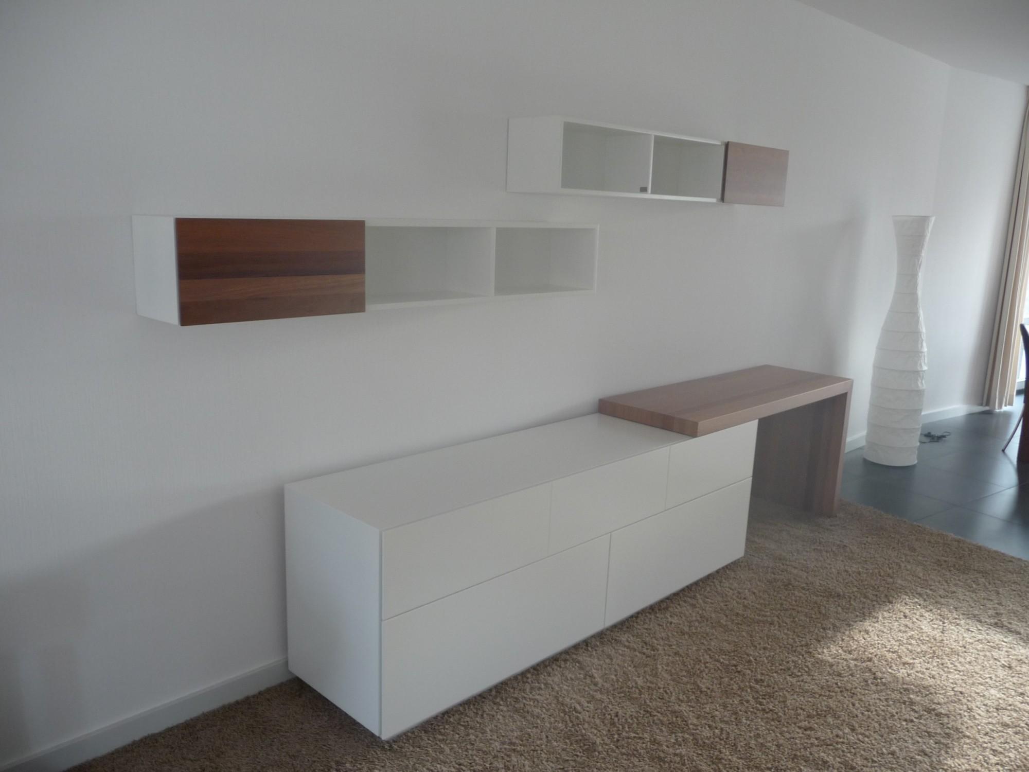 Wandmeubel Met Bureau.Design Wandmeubel Op Maat Puur Interiors