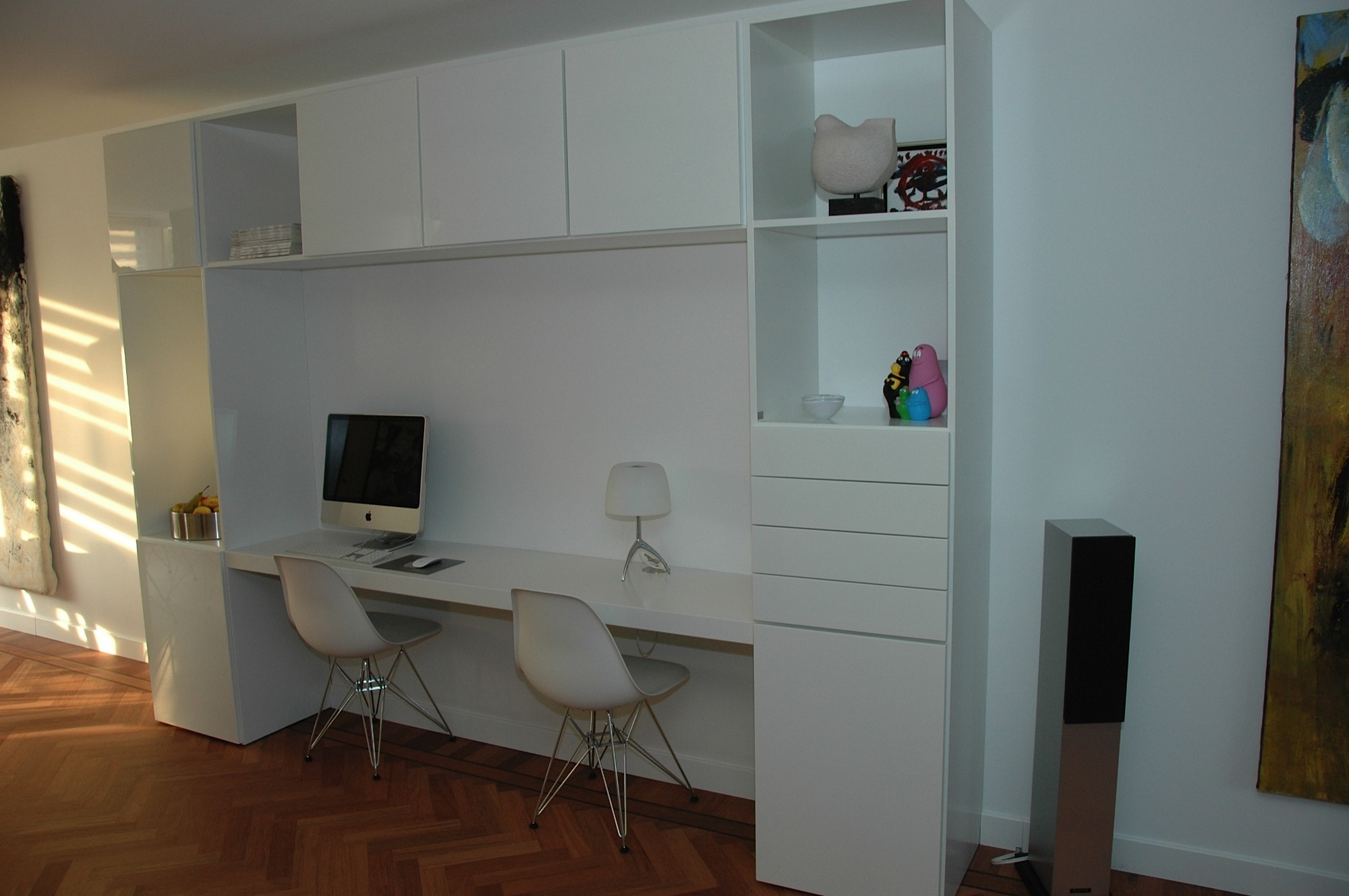 Wandmeubel Met Bureau.Bureau Wandkast Combinatie Puur Interiors Puur Design Interieur