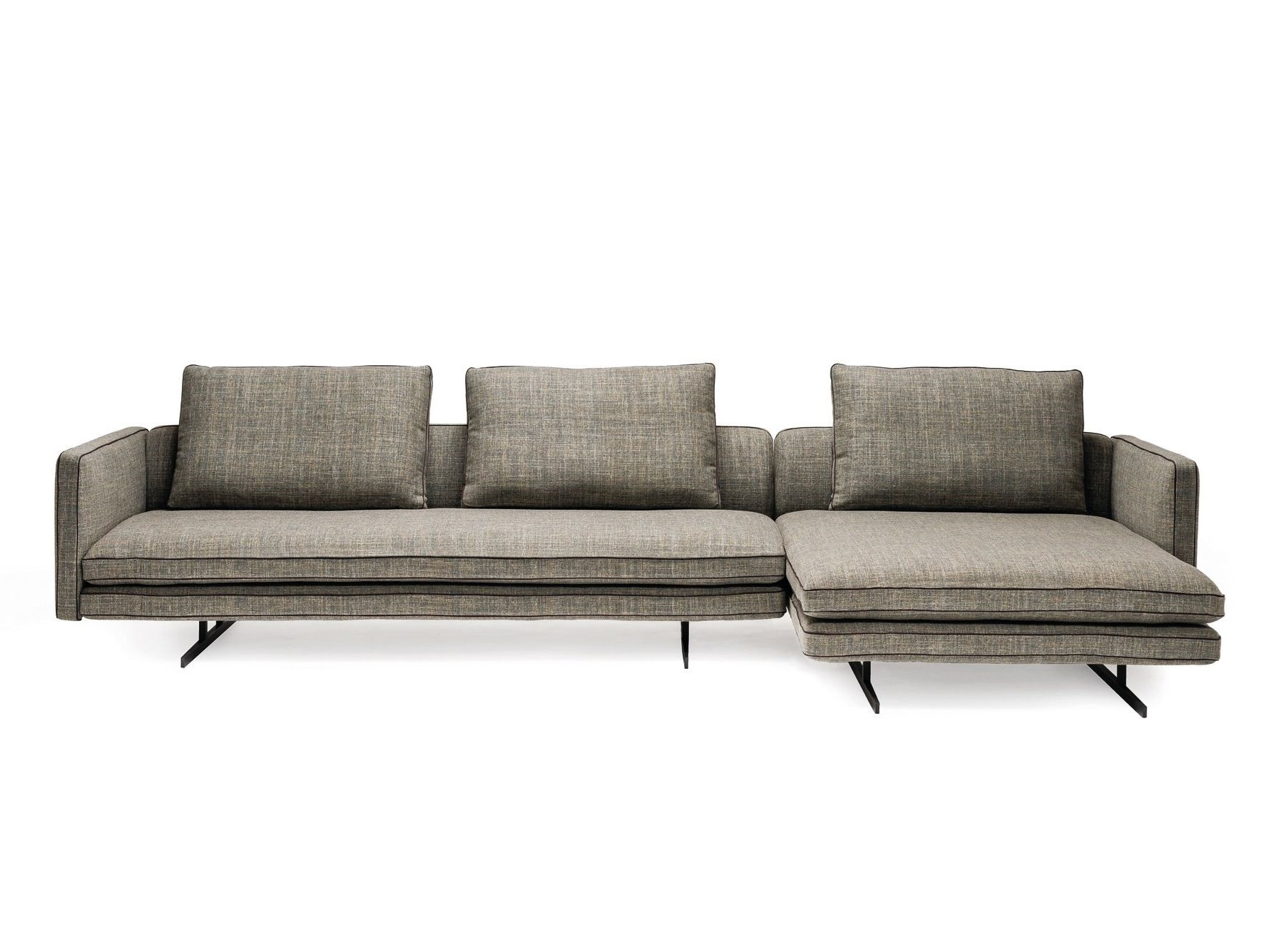 Moss hoekbank chaise longue arketipo puur design interieur