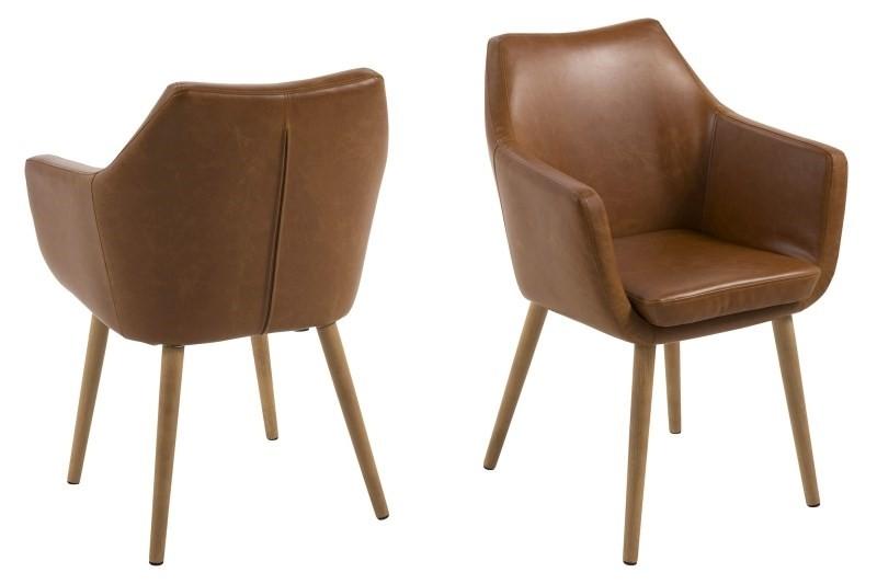 Geniet van het comfort van de nora eetkamerstoel van scandilab. de sfeervolle nora stoel is verkrijgbaar in ...