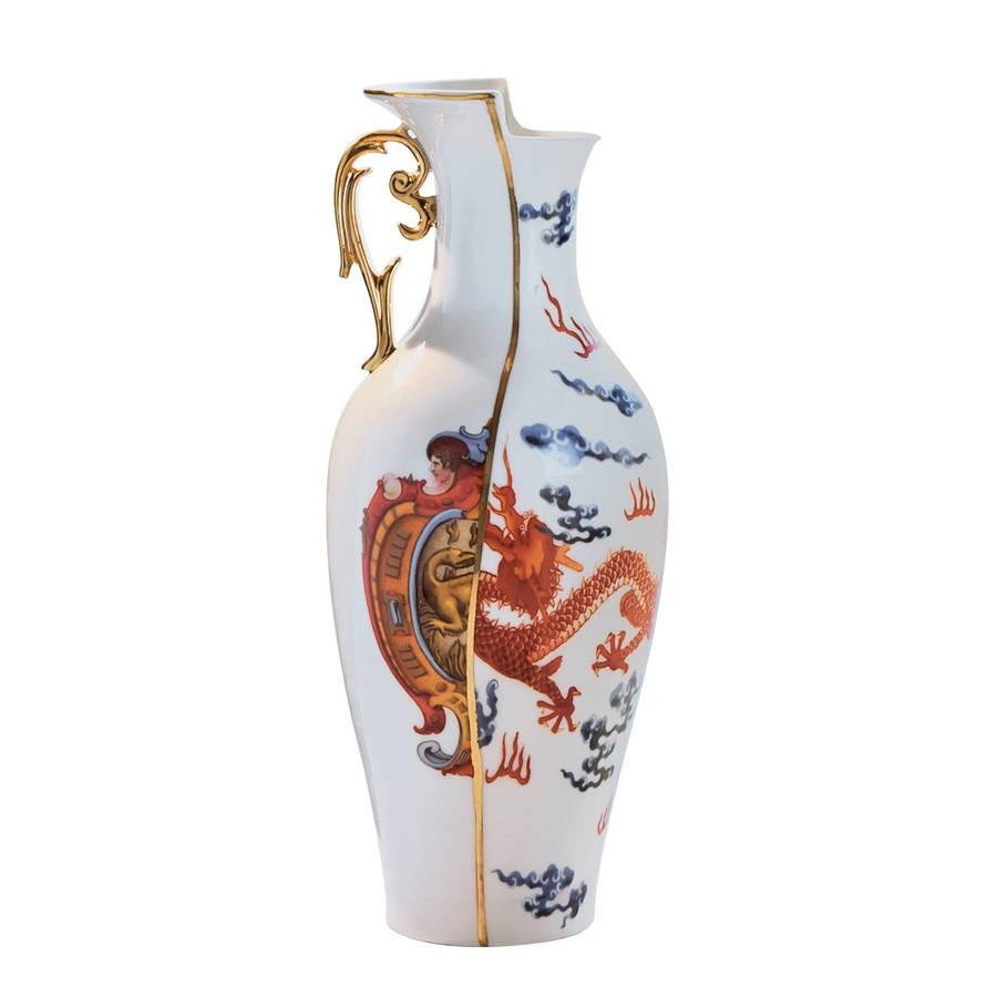 De collectie hybrid van seletti is gemaakt van echt bone china porselein, wat bekend staat om zijn sterkte, ...