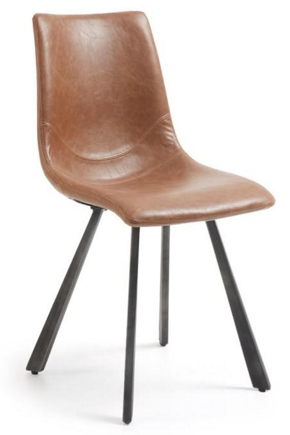De trac eetkamerstoel is een moderne eetkamerstoel uit de collectie van het spaanse designmerk laforma. de ...