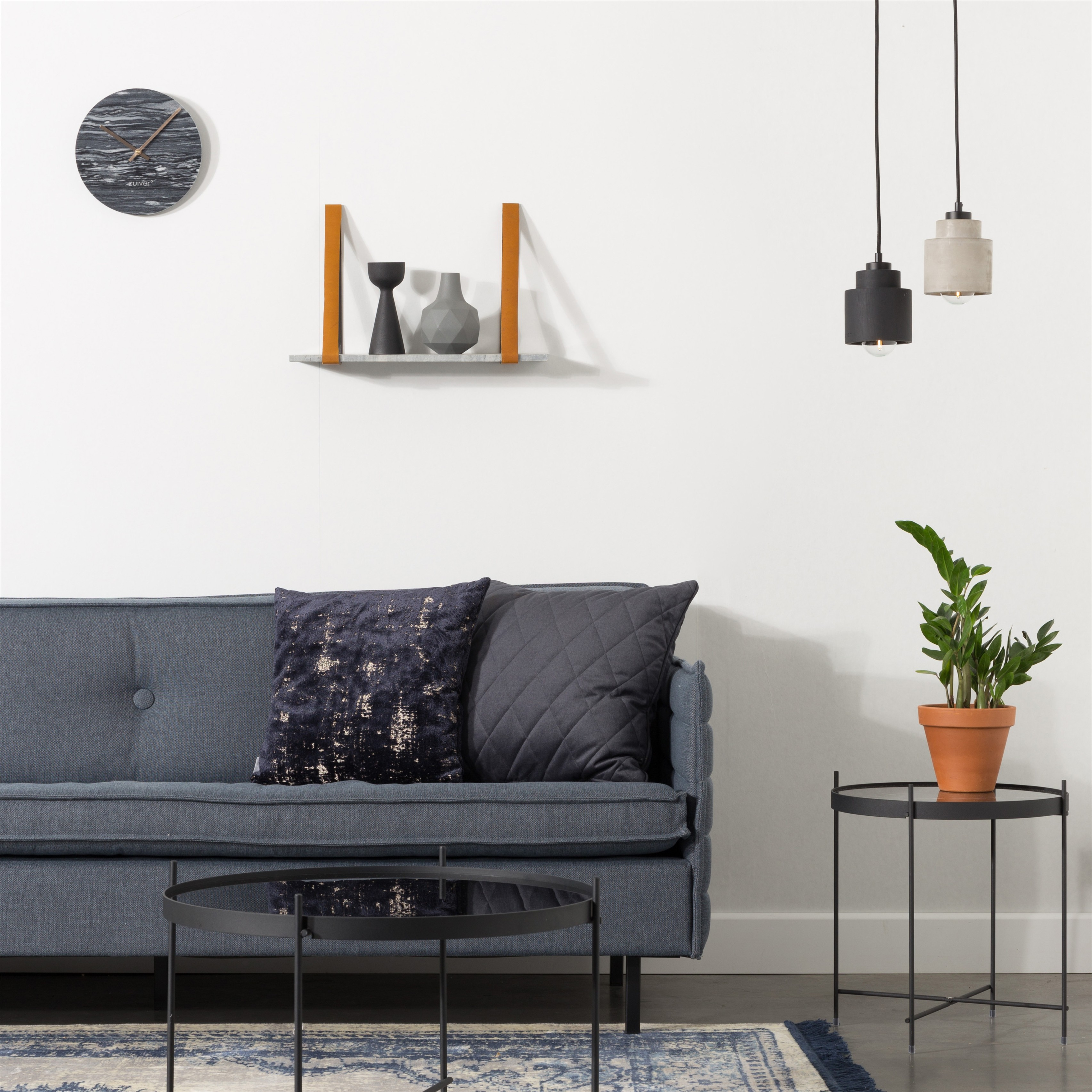 Pendant Left - Black | Zuiver - PUUR Design & Interieur