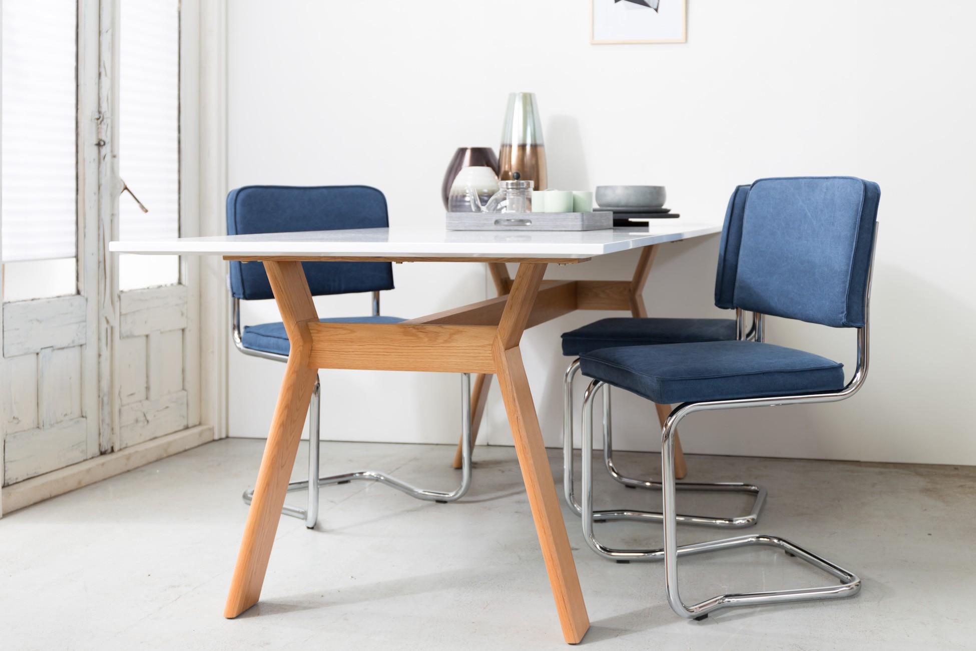 Zuiver Marble Tafel : High on wood tafel van zuiver gratis thuisbezorgd puur design